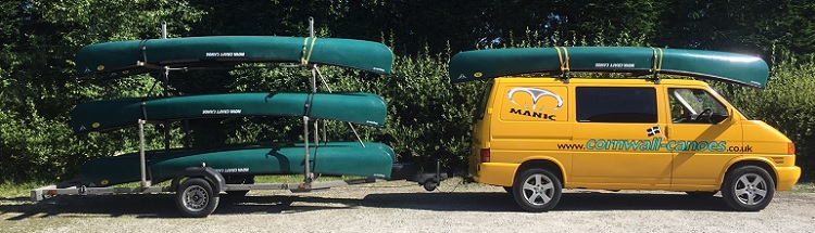 Trade Customers and Commercial Enquiries at Cornwall Canoes