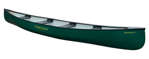 Enigma Canoes Prospector 17 with 4 x Plastic PE Seats - Great for hire and rental outlets, activity centres, canoe clubs, tour operators and commercial uses.
