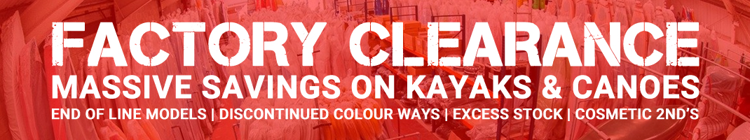 Factory Clearance Offers On Kayaks And Canoes At Cornwall Canoes
