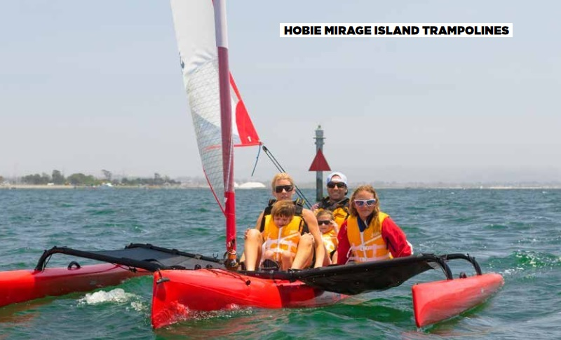 Hobie Tandem Island 2019 Mirage Drive Pedal Kayaks