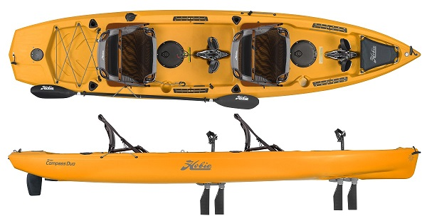 Hobie Mirage Compass Duo 2019 with Mirage Drive GT