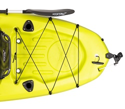 Hobie Mirage Passport Cargo Area and Rod Holders