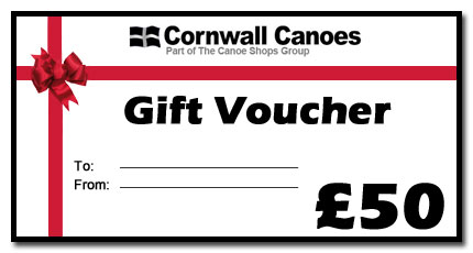 cornwall canoes gift vouchers for sale