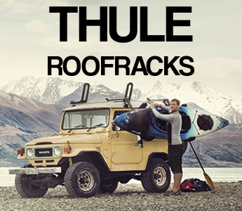 Thule Roof Rack Systems available at Cornwall Canoes