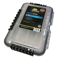 Plano Waterproof Tackle Box - Medium Blue