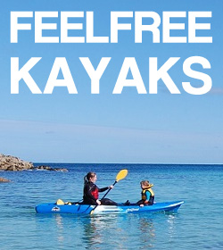 Feelfree Kayaks & Accessories Available At Cornwall Canoes