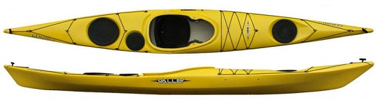 Valley Gemini SP 14.10 RM Sea Kayak
