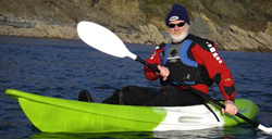 Nomad Sport by Feelfree Kayaks is perfect for light touring around Cornish beaches and coves