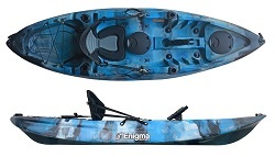 Enigma Kayaks Cruise Angler Cheap Best Deal Fishing Kayak