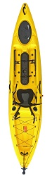 Enigma Kayaks Fishing Pro 12 in the Yellow colour option