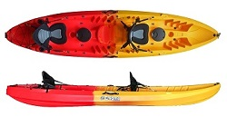 Enigma Kayaks Flow Duo Tandem 2 Seat Sit On Top Cheapest Best Deal