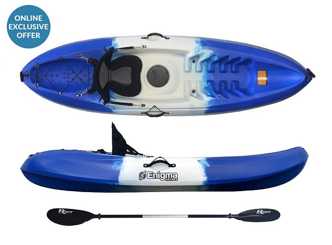 Enigma Kayaks Flow Sit-On-Top Kayak Ocean Colour