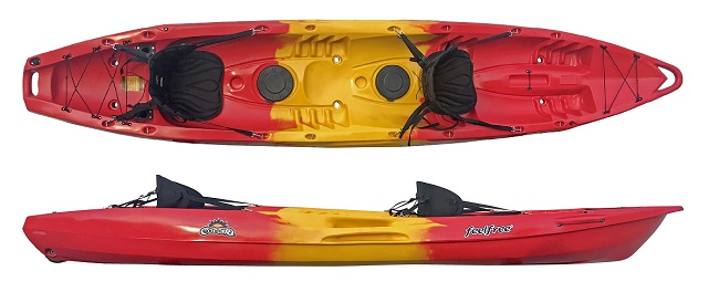 The Corona sit on top from Feelfree kayaks