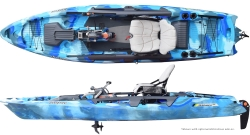 Feelfree Dorado OverDrive Pedal Kayak