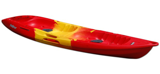 Feelfree Gemini Sport in Red/Yellow/Red Lava