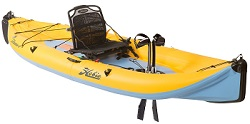 Inflatable Kayaks from Hobie Kayaks with the Mirage Drive Pedal System