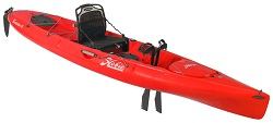 Hobie Revolution 13 2018 Red Hibiscus