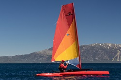 Hobie Adventure Island Sailing