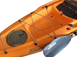 Hobie Outback Rear Tank Well Cargo Area