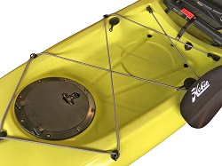 Hobie Revolution 13 Rear Tank Well Cargo Area