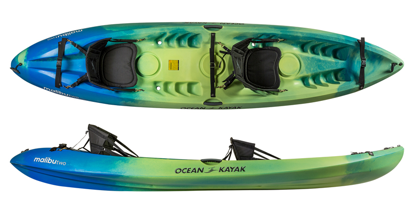Ocean Kayak Malibu 2 Tandem Sit On Top Kayaks