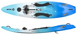 Perception Five-O Surf-On-Top Kayak in Zest