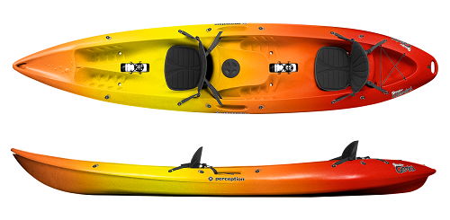 Perception Scooter Gemini Tandem Kayak