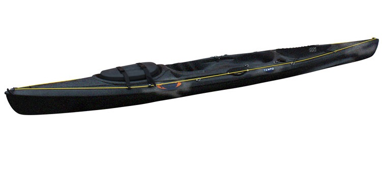 RTM Tempo Angler In Limited Edition Black - Light and fast fishing kayak