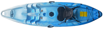 Riot Kayaks Escape 9 in Blue/White Colour