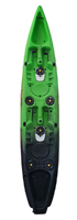 Viking Tempo 2 Double Fishing Kayak in Green/Black