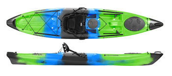Wilderness Systems Tarpon 120 E Sit On Top Kayak Galaxy