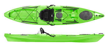 Wilderness Systems Tarpon 120 E Sit On Top Kayak Lime