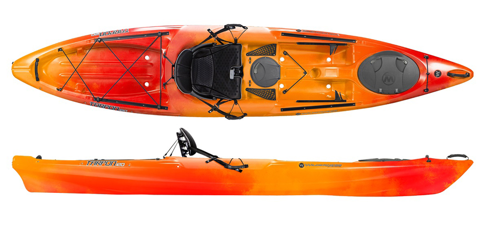 Wilderness Systems Tarpon 120 E Sit On Top Kayak