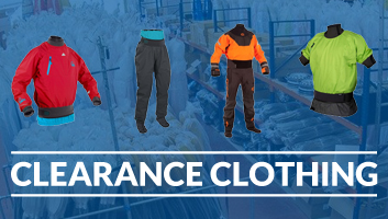 Pre-Season Warehouse Clearance Paddlesport Clothing at Brighton Canoes
