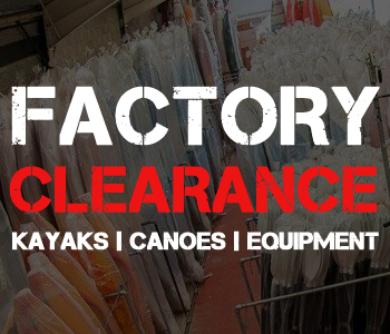 Factory Clearance Bargain Offers at Manchester Canoes