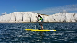 Hobie Mirage Eclipse 12 SUP - great for exploring the coastline on calm days