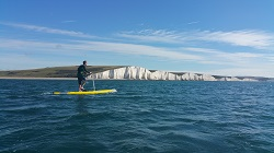 Hobie Mirage Eclipse 12 SUP - fantastic for exploring and touring on the water