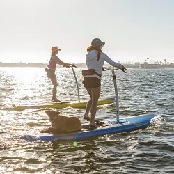 Hobie Mirage Eclipse Stability in Chop