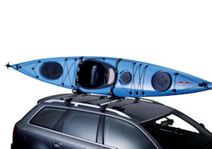 Thule canoe and kayak carriers