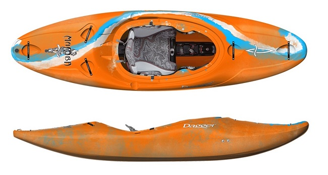 Dagger Mamba White Water Kayak in Ergo River Outfitting