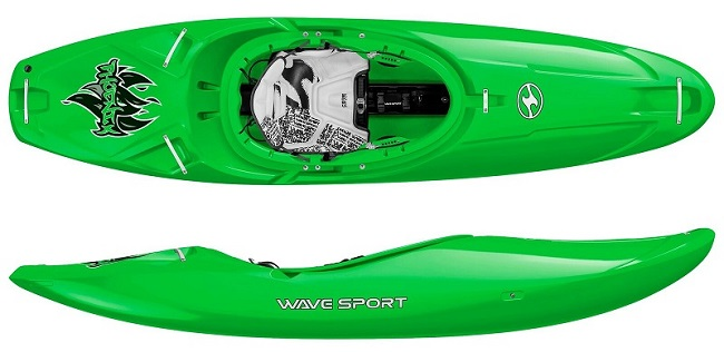 Wavesport Phoenix white water kayak