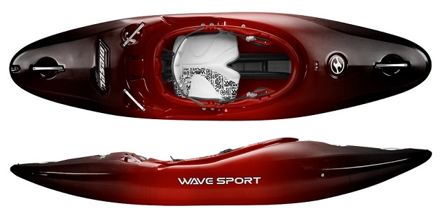 Wavesport Diesel white water kayak